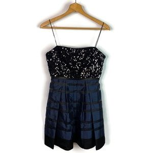 Hailey Logan by Adrianna Papell Black Sequin Dress